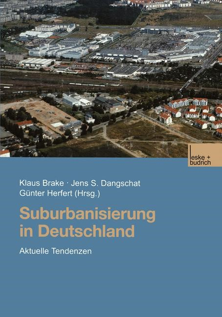 Suburbanisierung in Deutschland | Brake / Dangschat / Herfert, 2001 | Buch (Cover)