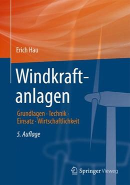 Abbildung von Hau | Windkraftanlagen | 5. Auflage | 2014 | beck-shop.de