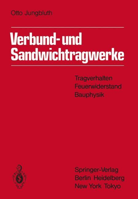 Verbund- und Sandwichtragwerke | Jungbluth, 2012 | Buch (Cover)