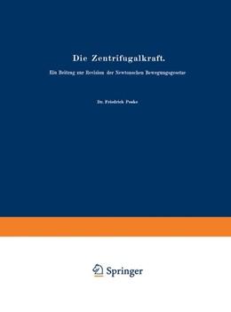 Abbildung von Poske | Die Zentrifugalkraft | 1909 | Ein Beitrag zur Revision der N... | 2