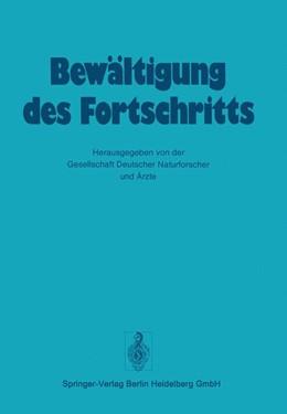 Abbildung von Gesellschaft deutscher Naturforscher und Ärzte | Bewältigung Des Fortschritts | 2012 | 107