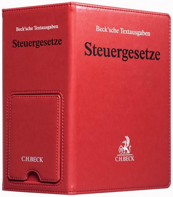Steuergesetze • Premium-Ordner * Ersatzordner (leer) (Cover)