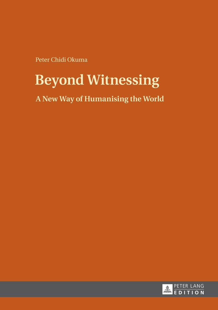 Beyond Witnessing | Okuma, 2013 | Buch (Cover)
