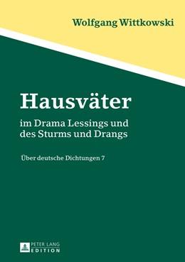 Abbildung von Wittkowski   Hausväter   2013   im Drama Lessings und des Stur...