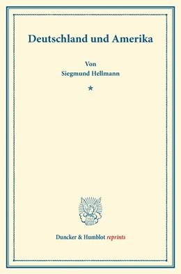 Abbildung von Hellmann | Deutschland und Amerika | 1. Auflage | 2013 | beck-shop.de