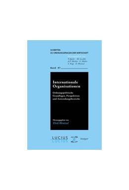 Abbildung von Wentzel | Internationale Organisationen | 2013 | Ordnungspolitische Grundlagen,... | 97