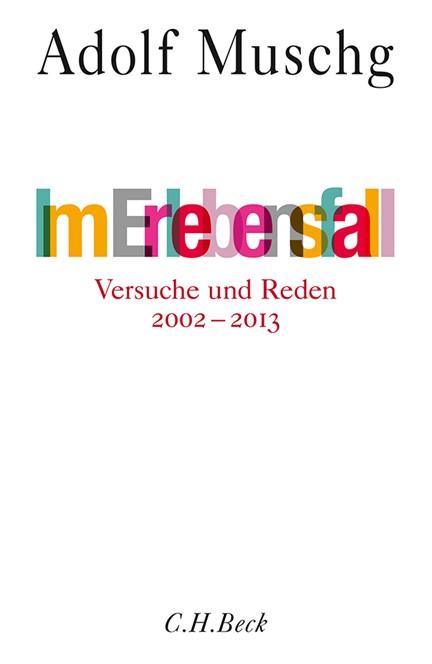 Cover: Adolf Muschg, Im Erlebensfall