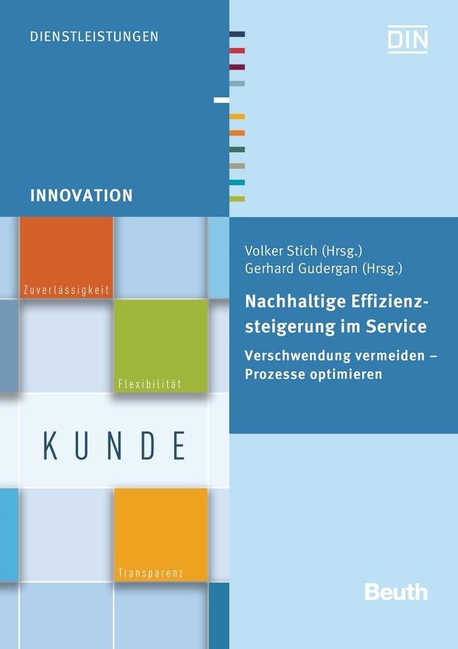 Nachhaltige Effizienzsteigerung im Service | / Gudergan / Stich, 2015 | Buch (Cover)