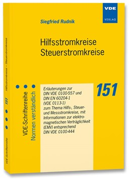 Abbildung von Rudnik | Hilfsstromkreise Steuerstromkreise | 1. Auflage | 2013 | 151 | beck-shop.de