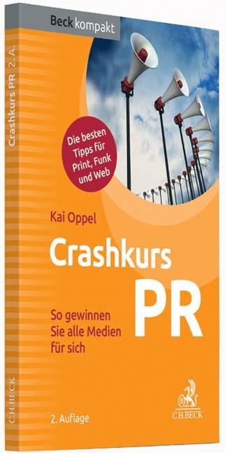 Crashkurs PR | Oppel | Buch (Cover)