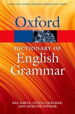 Abbildung von Aarts / Chalker / Weiner | The Oxford Dictionary of English Grammar | 2014