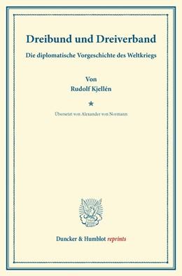 Abbildung von Kjellén | Dreibund und Dreiverband | 2013 | Die diplomatische Vorgeschicht...
