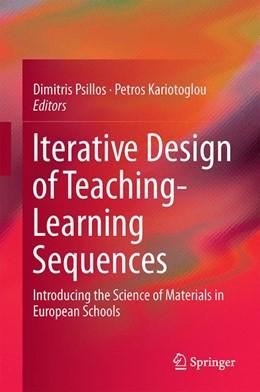 Abbildung von Psillos / Kariotoglou   Iterative Design of Teaching-Learning Sequences   1. Auflage   2015   beck-shop.de