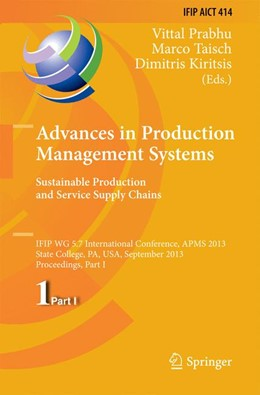 Abbildung von Prabhu / Taisch / Kiritsis | Advances in Production Management Systems. Sustainable Production and Service Supply Chains | 2013 | IFIP WG 5.7 International Conf... | 414