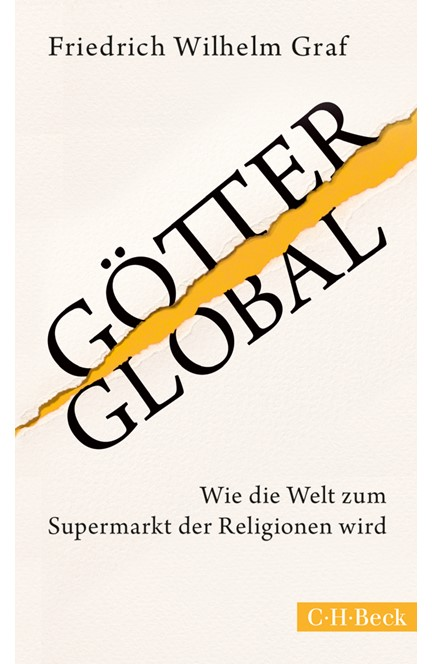 Cover: Friedrich Wilhelm Graf, Götter global