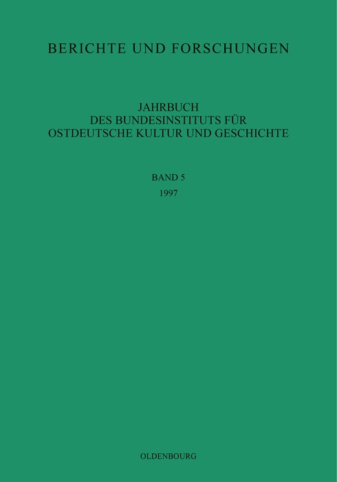 1997, 1998 | Buch (Cover)