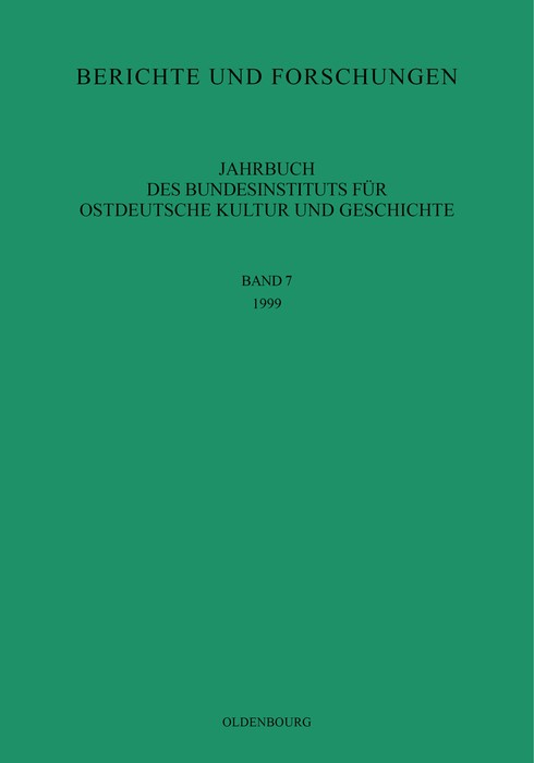1999, 2000 | Buch (Cover)