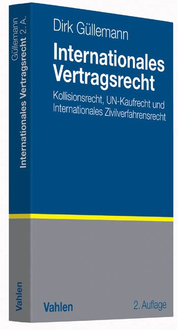 Internationales Vertragsrecht | Güllemann | 2. Auflage, 2014 | Buch (Cover)