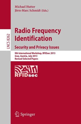 Abbildung von Hutter / Schmidt | Radio Frequency Identification: Security and Privacy Issues | 1. Auflage | 2014 | 8262 | beck-shop.de
