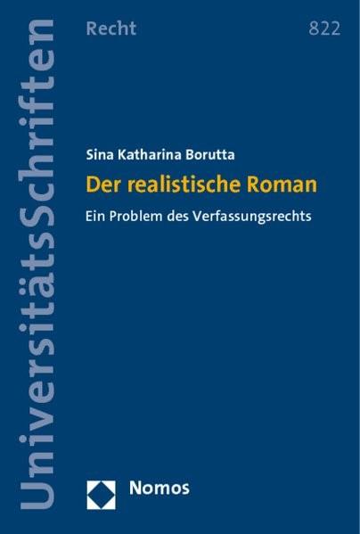 Der realistische Roman | Borutta | 1. Auflage 2013, 2013 (Cover)