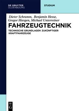 Abbildung von Schramm / Hesse / Maas | Fahrzeugtechnik | 2017 | Technische Grundlagen aktuelle...