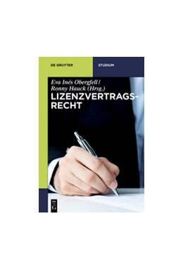 Abbildung von Obergfell / Hauck (Hrsg.)   Lizenzvertragsrecht   2016