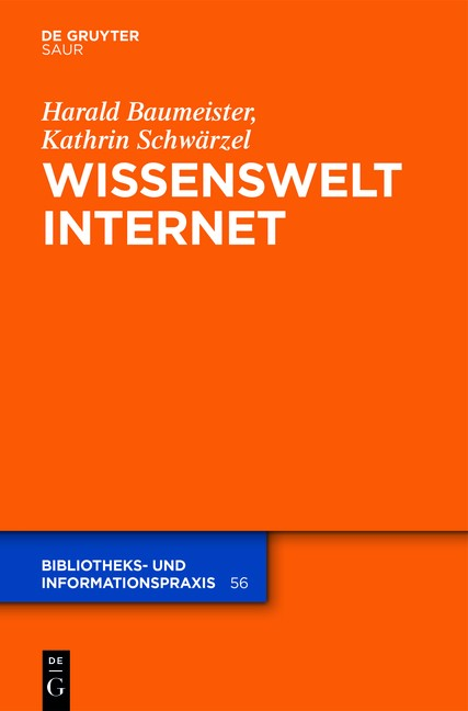 Wissenswelt Internet | Baumeister / Schwärzel, 2018 | Buch (Cover)