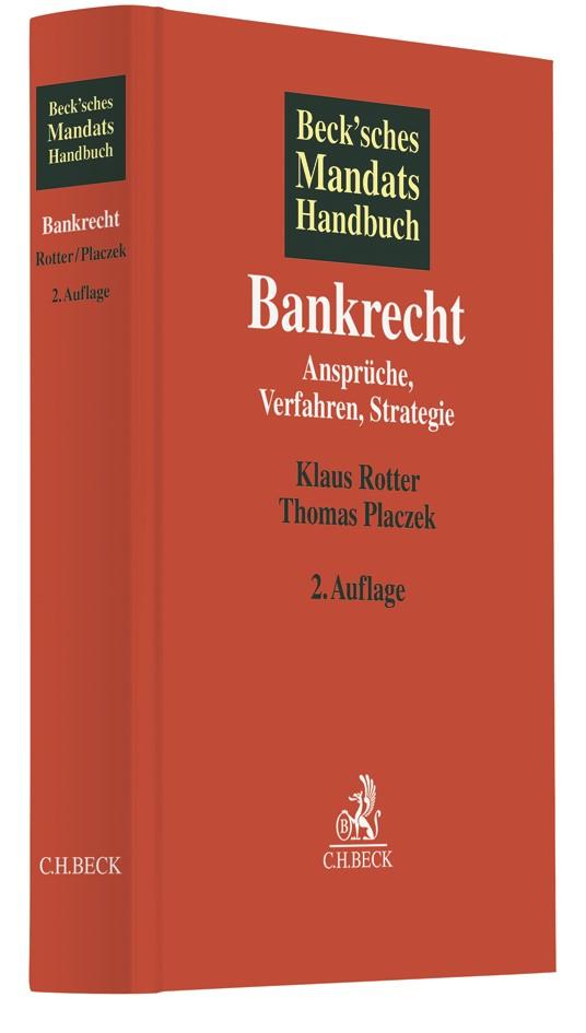 Beck'sches Mandatshandbuch Bankrecht | 2. Auflage, 2019 | Buch (Cover)