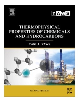 Abbildung von Yaws | Thermophysical Properties of Chemicals and Hydrocarbons | 2014