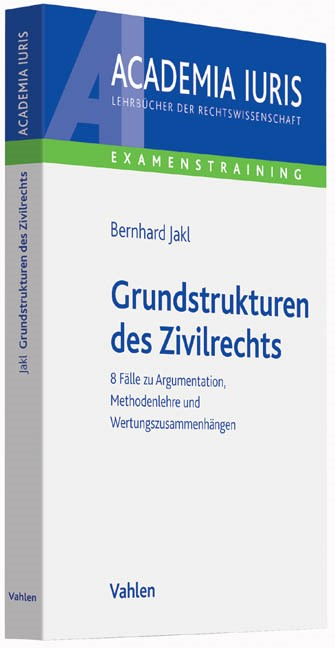 Grundstrukturen des Zivilrechts | Jakl, 2014 | Buch (Cover)