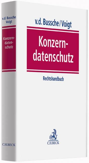Konzerndatenschutz | v.d. Bussche / Voigt, 2014 | Buch (Cover)