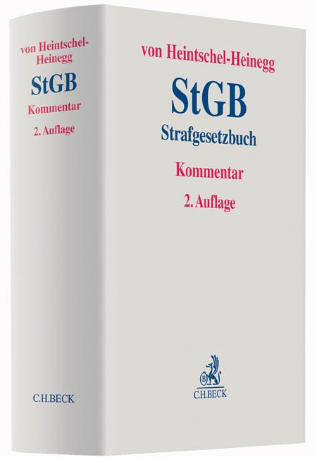 Strafgesetzbuch: StGB | von Heintschel-Heinegg | 2. Auflage, 2015 | Buch (Cover)