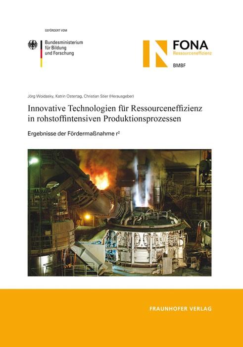 Innovative Technologien für Ressourceneffizienz in rohstoffintensiven Produktionsprozessen | / Woidasky / Ostertag / Stier, 2013 | Buch (Cover)