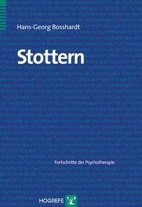 Stottern | Bosshardt, 2007 | Buch (Cover)