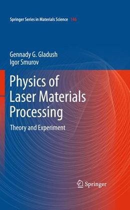 Abbildung von Gladush / Smurov | Physics of Laser Materials Processing | 2013 | Theory and Experiment | 146