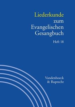 Abbildung von Herbst / Alpermann | Handbuch zum Evangelischen Gesangbuch / Liederkunde zum Evangelischen Gesangbuch. Heft 18 | 1. Auflage 2013 | 2013 | . Handbuch zum EG 3,18