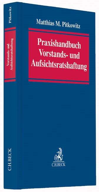 Praxishandbuch Vorstands- und Aufsichtsratshaftung | Pitkowitz, 2014 | Buch (Cover)