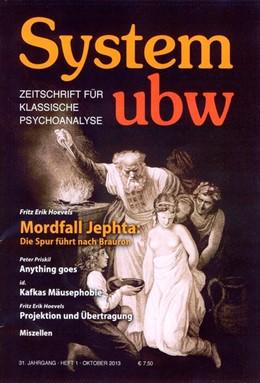 Abbildung von Hoevels / Priskil   System ubw 1/2013   2013   Zeitschrift für klassische Psy...