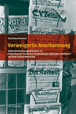 Abbildung von Dietrich | Verweigerte Anerkennung | 1. Auflage | 2014 | beck-shop.de