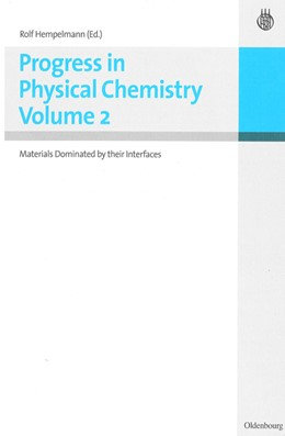 Abbildung von Hempelmann | Progress in Physical Chemistry Vol.2 | 1. Auflage | 2010