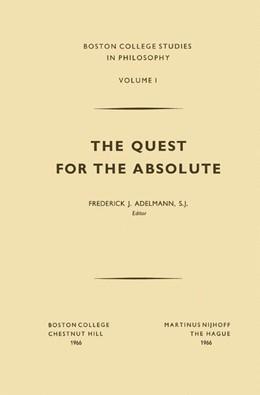 Abbildung von Adelmann   The Quest for the Absolute   1966   1