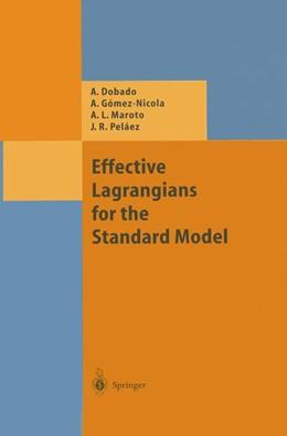 Abbildung von Dobado / Gomez-Nicola / Maroto | Effective Lagrangians for the Standard Model | 2013