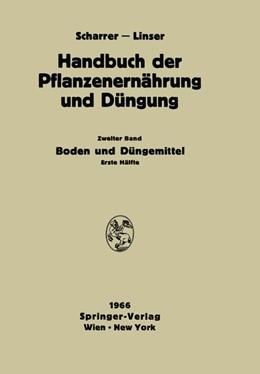 Abbildung von Abrahamczik / Herrera / Altemüller | Boden und Düngemittel | 1966 | 2012