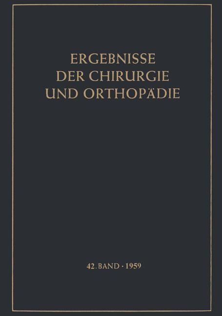 Ergebnisse der Chirurgie und Orthopädie, 2012 | Buch (Cover)