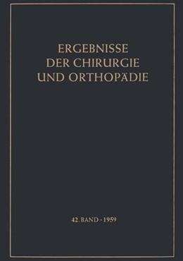 Abbildung von Ergebnisse der Chirurgie und Orthopädie | 2012 | 42