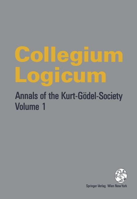 Collegium Logicum, 1995 | Buch (Cover)