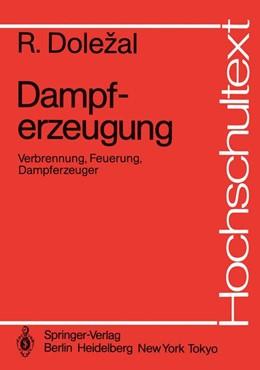 Abbildung von Dolezal | Dampferzeugung | 1. Auflage | 1990 | beck-shop.de