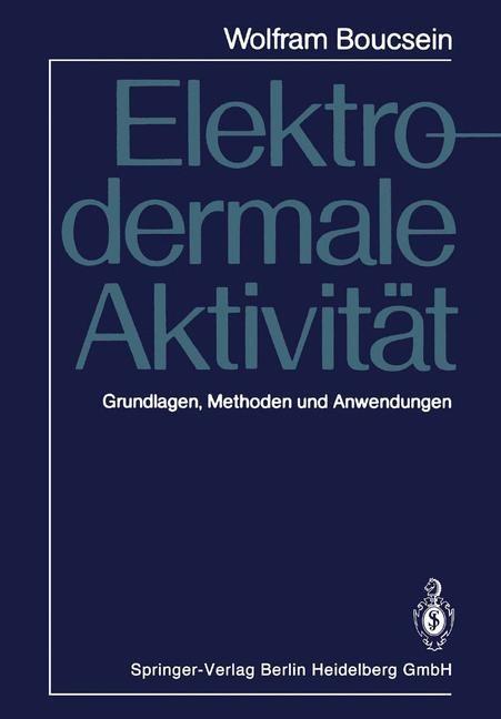 Elektrodermale Aktivität | Boucsein, 2013 | Buch (Cover)
