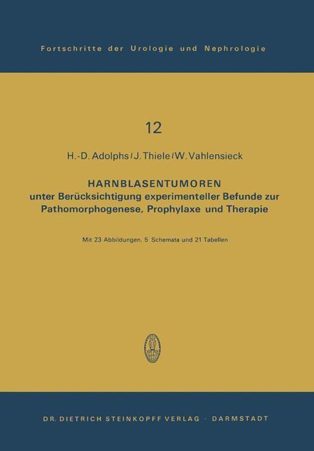 Abbildung von Adolphs / Thiele / Vahlensieck | Harnblasentumoren | 1979