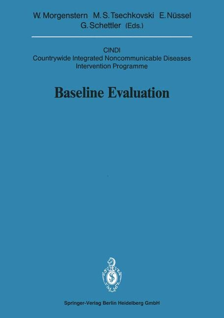 Baseline Evaluation | Morgenstern / Tsechkovski / Nüssel / Schettler, 1991 | Buch (Cover)